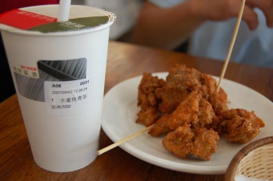 繼光香香雞-水蜜桃青茶