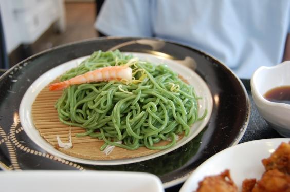 繼光香香雞-日式蕎麥冷麵