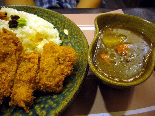 咖哩事典-炸雞排咖哩飯