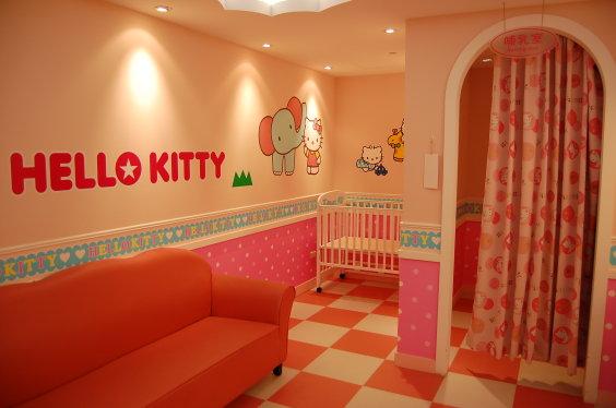 桃園機場第二航站-kitty