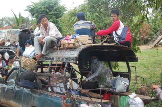 高棉-不要命的車