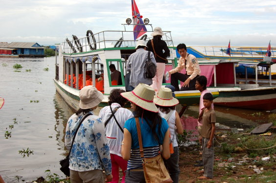 高棉-Tonle Sap 遊湖