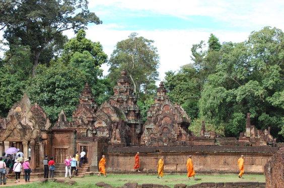 高棉-女王宮