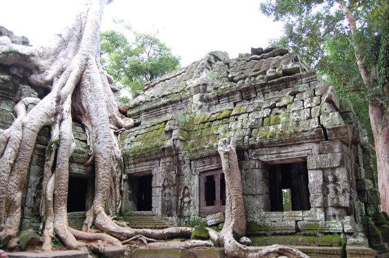 高棉-塔普倫寺
