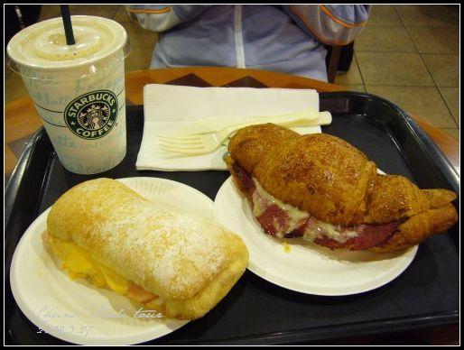 Bali行的開始: Starbucks早餐