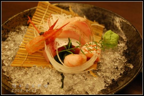後引日本料理-精選生魚片
