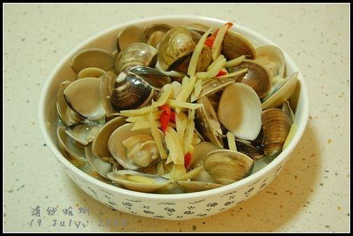 [廚] 清炒蛤蜊
