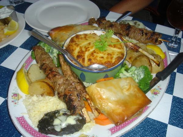 聽說是希臘菜