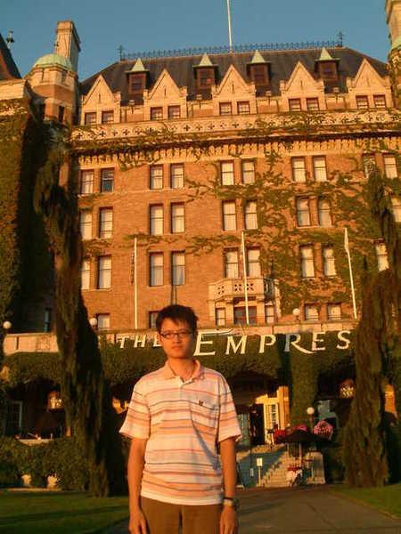 Victoria  的皇后酒店, 我有點落寞...