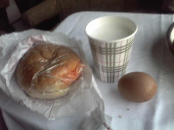 火車上的早餐  台幣40