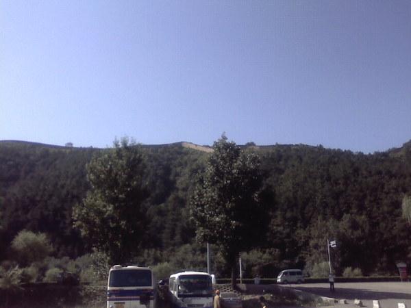 遠眺避暑山莊城牆