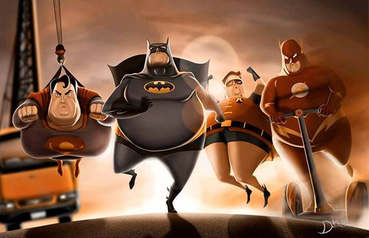 中年發福的DC英雄... 我好像就是這樣