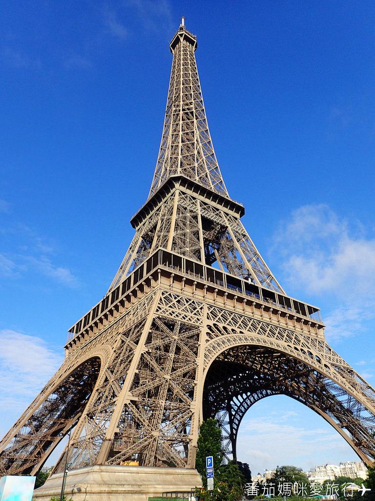 巴黎DAY2 巴黎鐵塔&凱旋門&聖心堂&聖母院&塞納河遊船 (1)