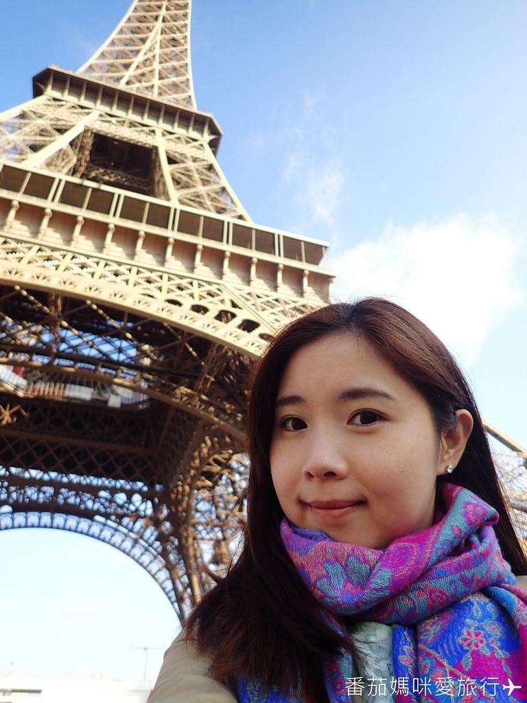 巴黎DAY2 巴黎鐵塔&凱旋門&聖心堂&聖母院&塞納河遊船 (7)