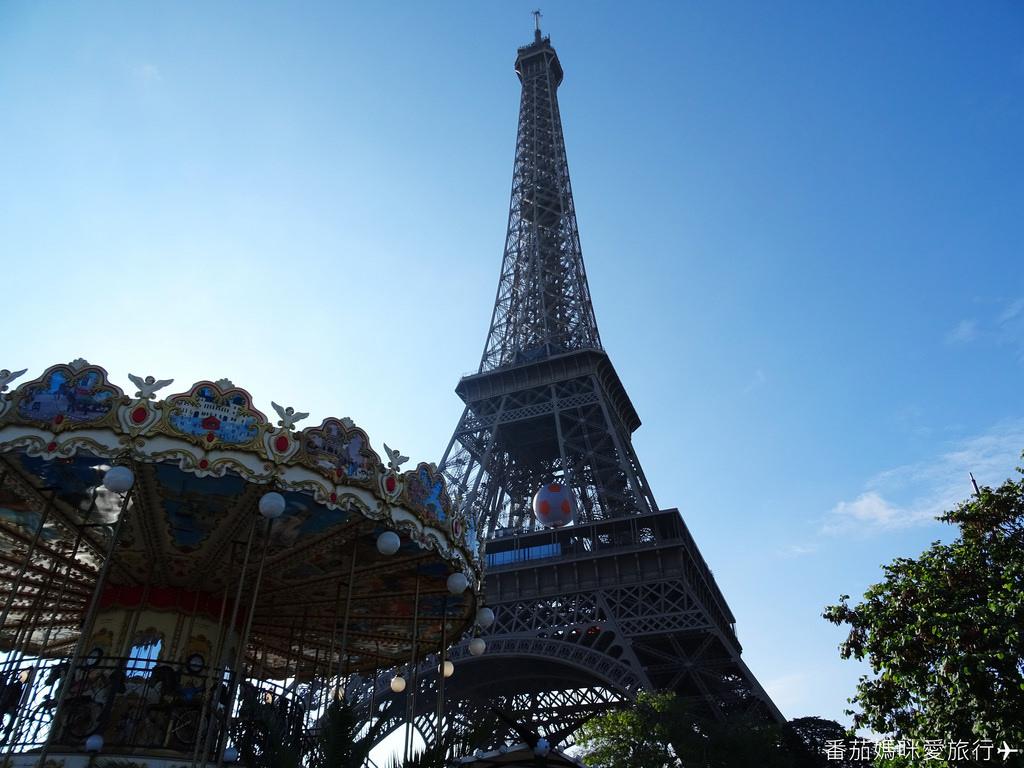 巴黎DAY2 巴黎鐵塔&凱旋門&聖心堂&聖母院&塞納河遊船 (11)