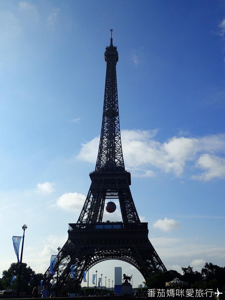 巴黎DAY2 巴黎鐵塔&凱旋門&聖心堂&聖母院&塞納河遊船 (12)