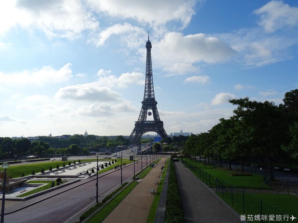 巴黎DAY2 巴黎鐵塔&凱旋門&聖心堂&聖母院&塞納河遊船 (13)