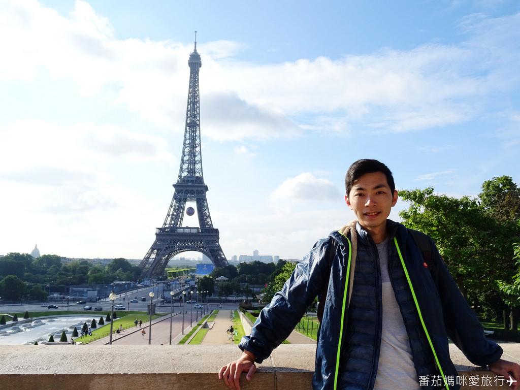 巴黎DAY2 巴黎鐵塔&凱旋門&聖心堂&聖母院&塞納河遊船 (14)