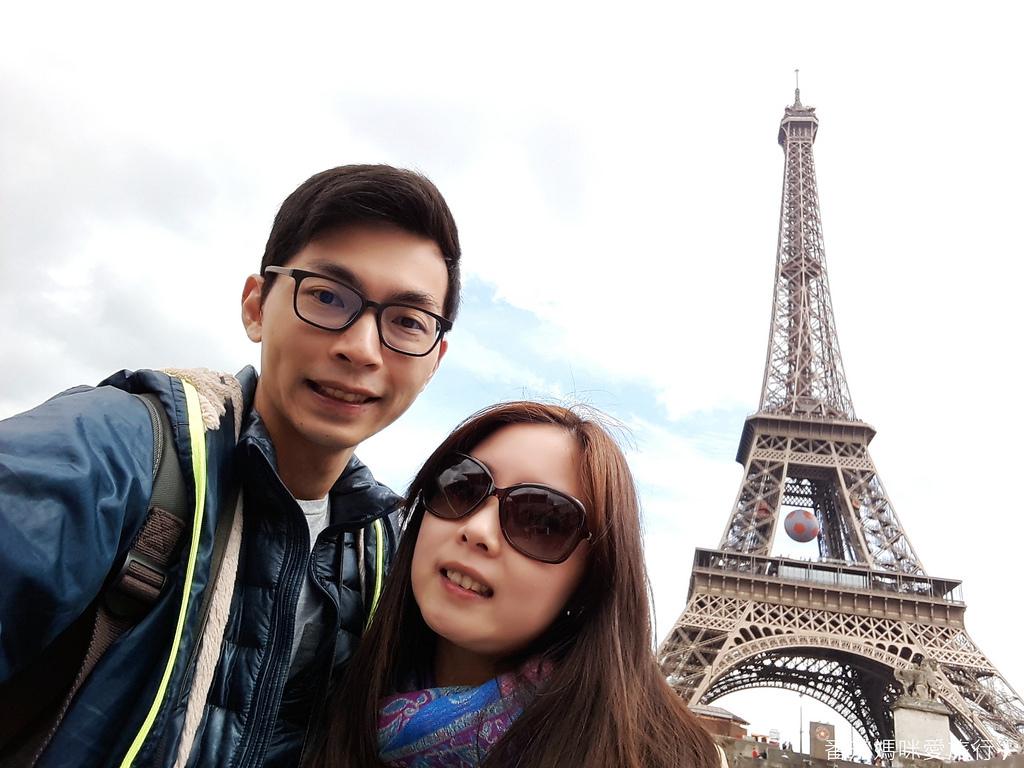 巴黎DAY2 巴黎鐵塔&凱旋門&聖心堂&聖母院&塞納河遊船 (15)