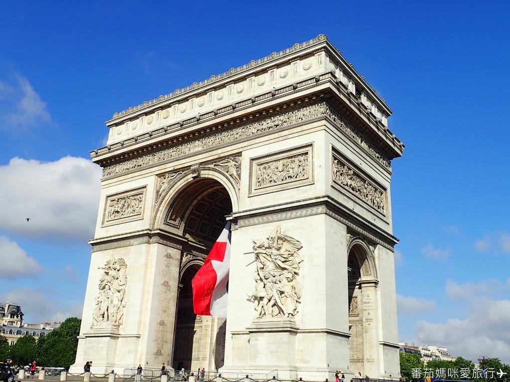 巴黎DAY2 巴黎鐵塔&凱旋門&聖心堂&聖母院&塞納河遊船 (16)