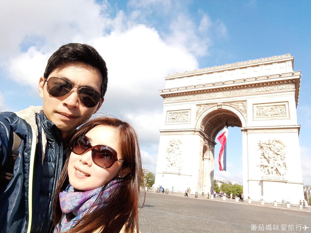 巴黎DAY2 巴黎鐵塔&凱旋門&聖心堂&聖母院&塞納河遊船 (17)