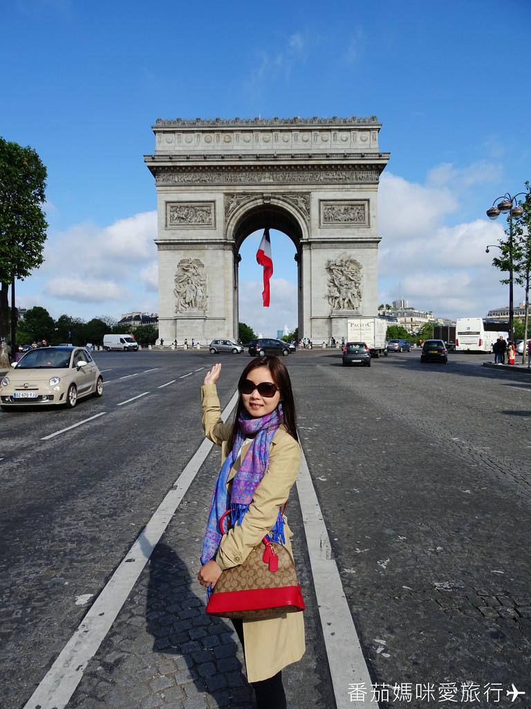 巴黎DAY2 巴黎鐵塔&凱旋門&聖心堂&聖母院&塞納河遊船 (20)