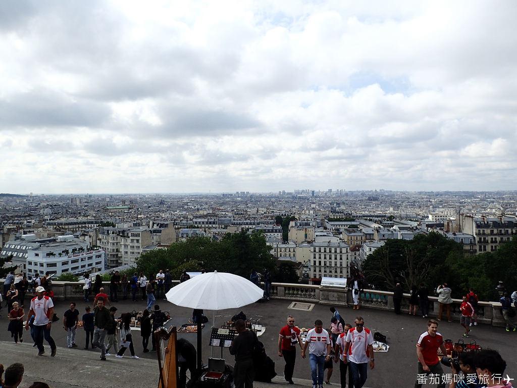 巴黎DAY2 巴黎鐵塔&凱旋門&聖心堂&聖母院&塞納河遊船 (35)