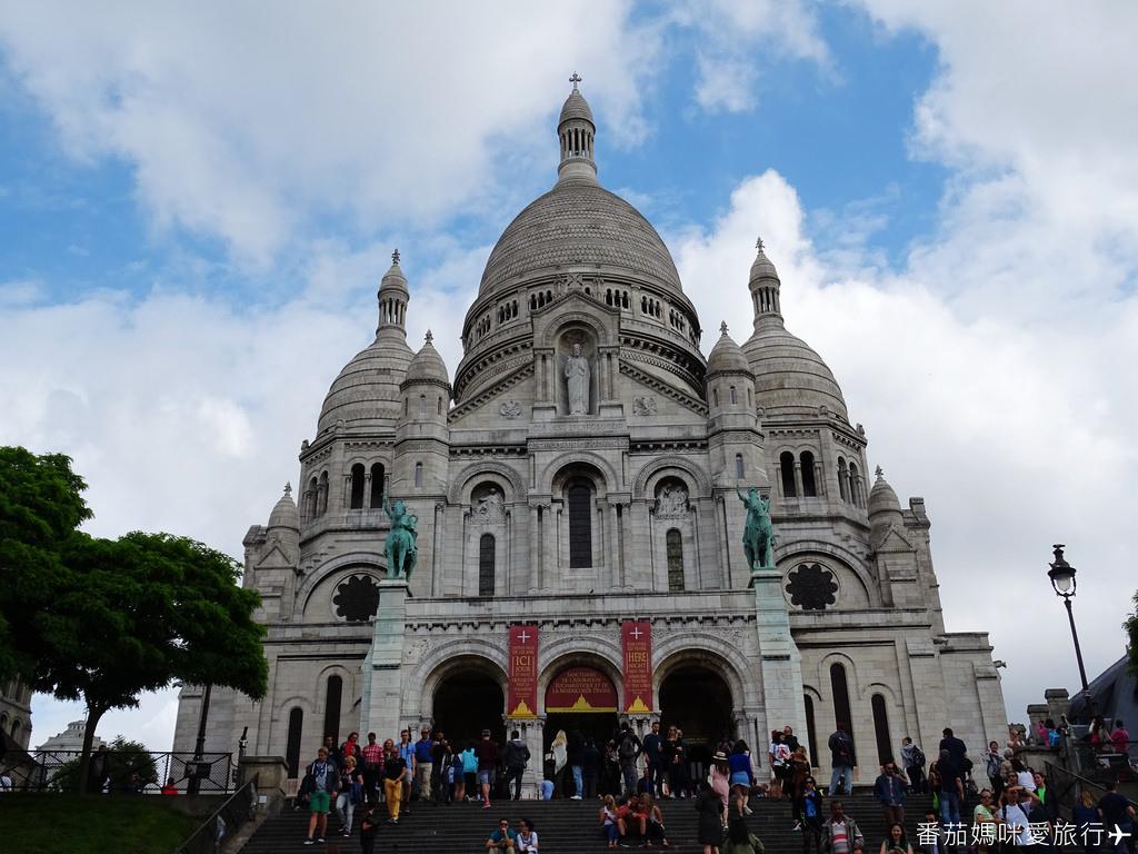 巴黎DAY2 巴黎鐵塔&凱旋門&聖心堂&聖母院&塞納河遊船 (36)
