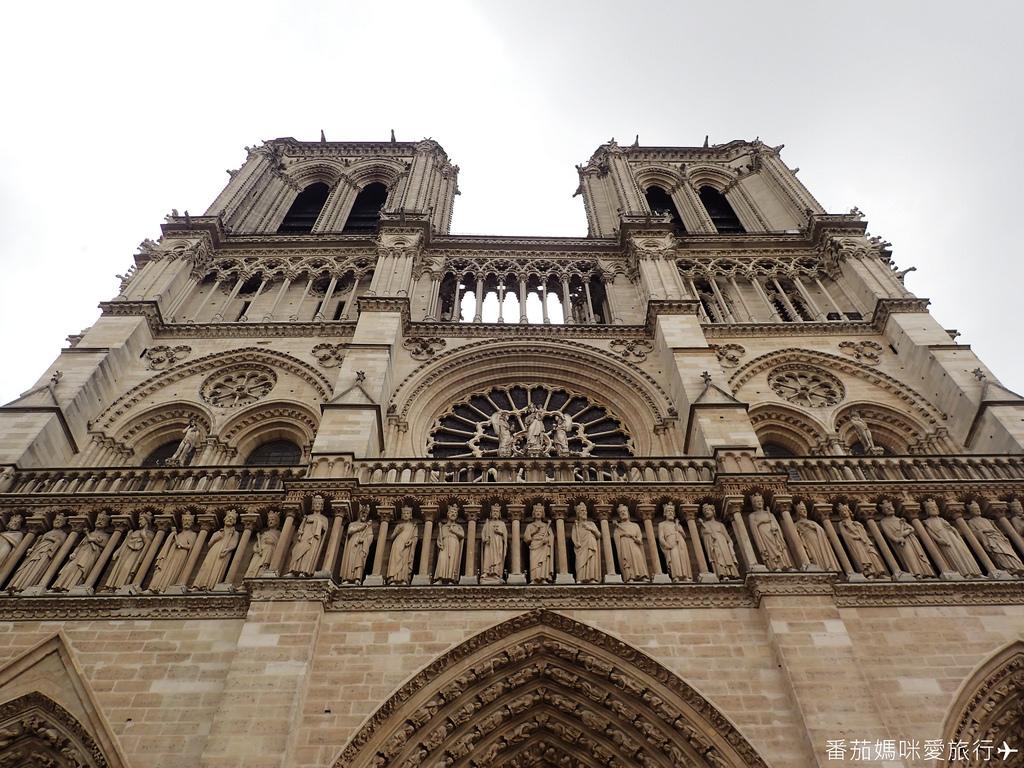 巴黎DAY2 巴黎鐵塔&凱旋門&聖心堂&聖母院&塞納河遊船 (56)