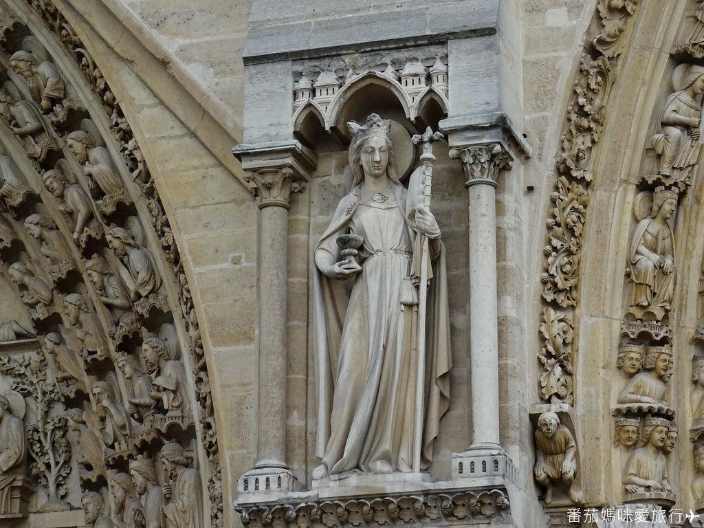 巴黎DAY2 巴黎鐵塔&凱旋門&聖心堂&聖母院&塞納河遊船 (60)