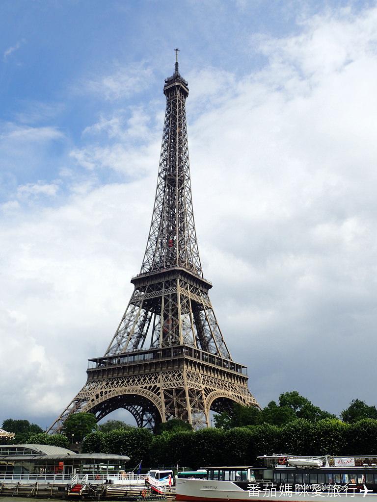 巴黎DAY2 巴黎鐵塔&凱旋門&聖心堂&聖母院&塞納河遊船 (74)