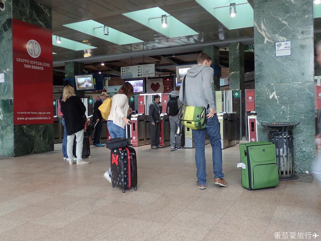 米蘭機場到飯店 (6)