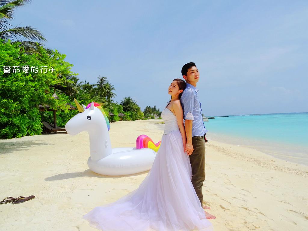 馬爾地夫婚紗 (10)