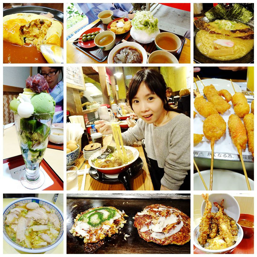 京阪奈自由行美食