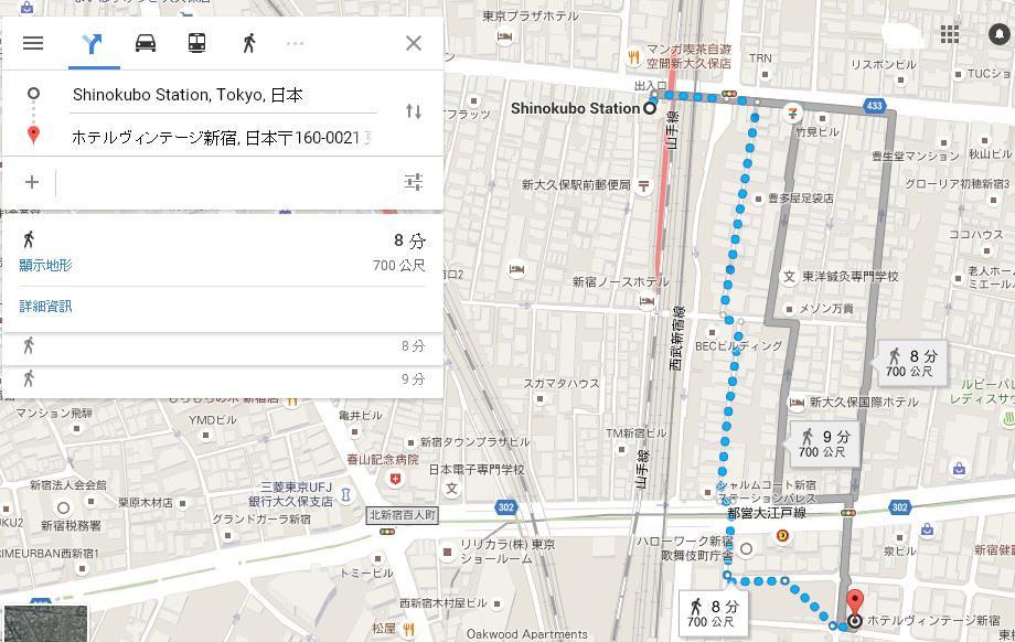 新宿賓特酒店1