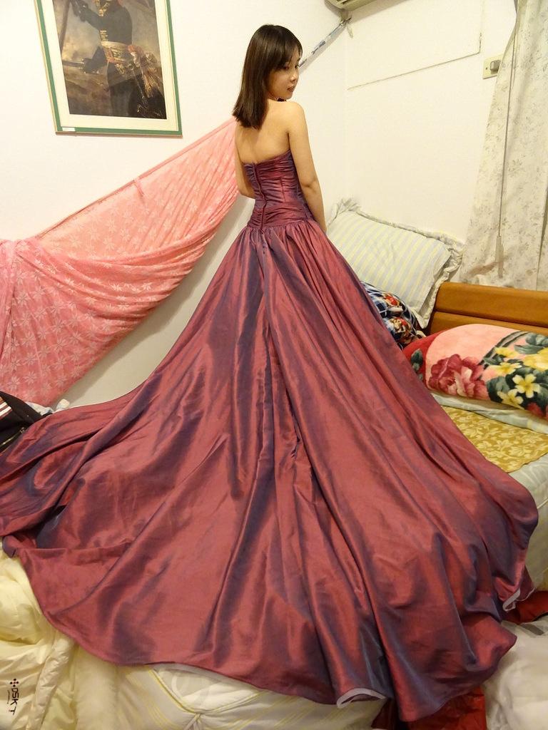 在家拍婚紗