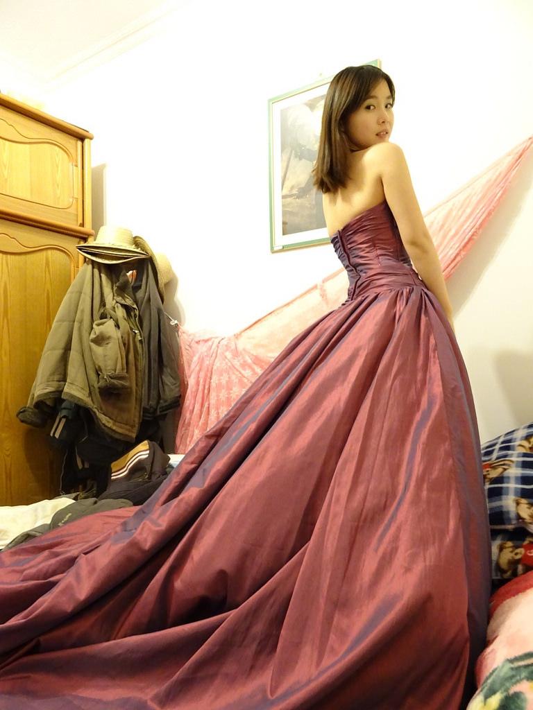 在家拍婚紗 (2)