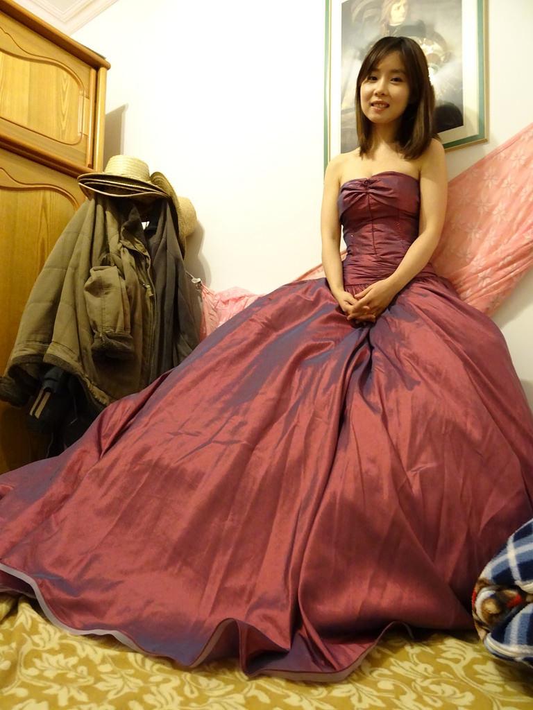 在家拍婚紗 (3)