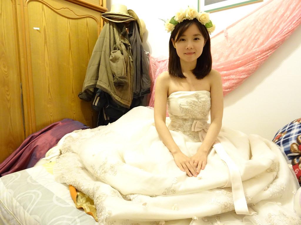在家拍婚紗 (4)