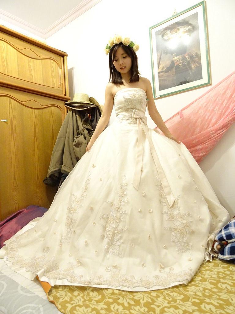 在家拍婚紗 (5)