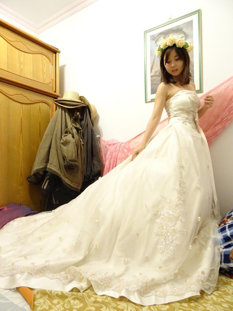 在家拍婚紗 (6)