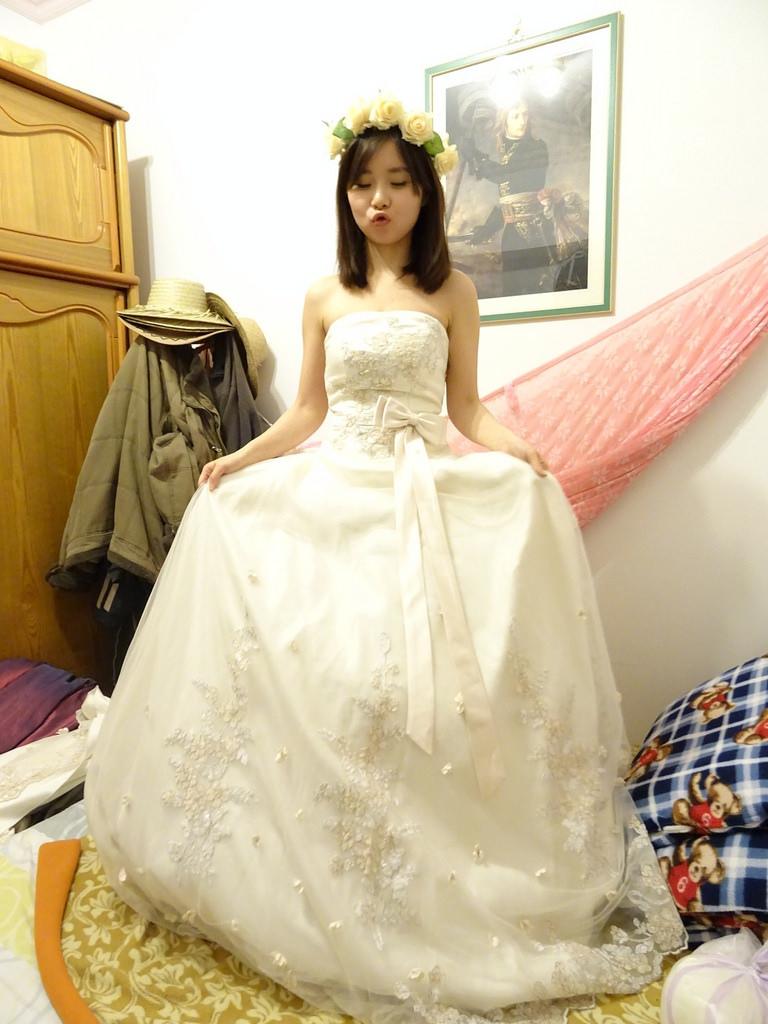 在家拍婚紗 (8)