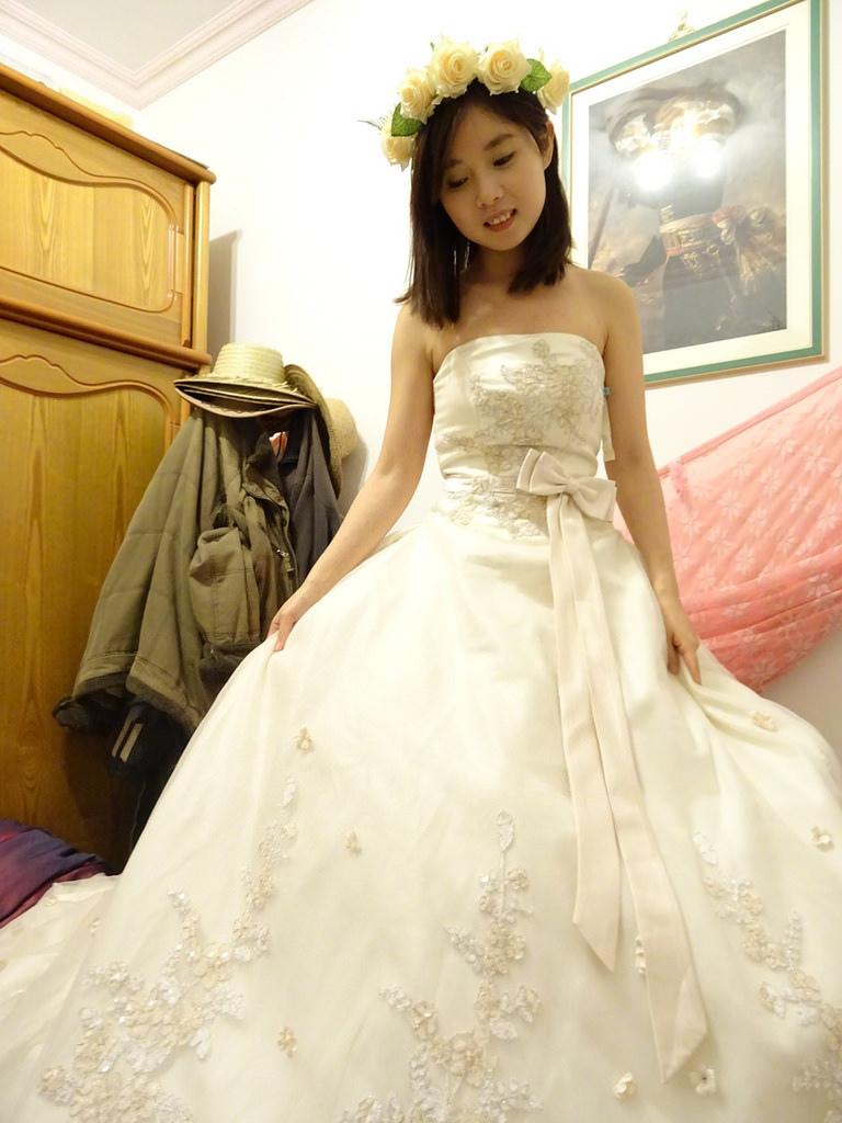 在家拍婚紗 (10)