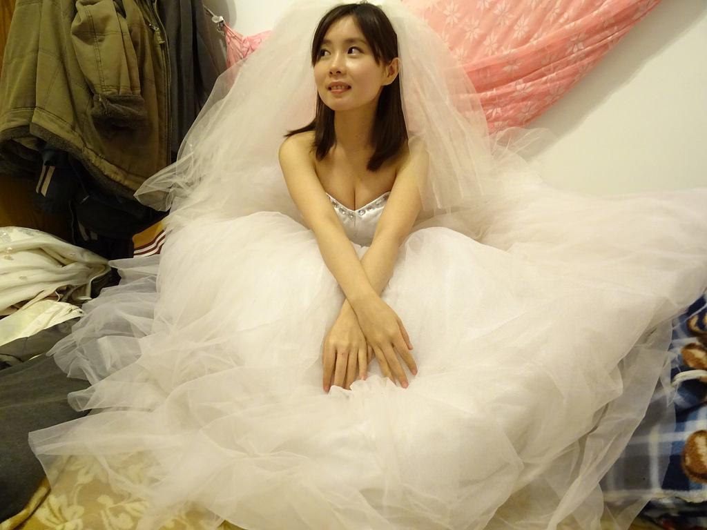 在家拍婚紗 (11)