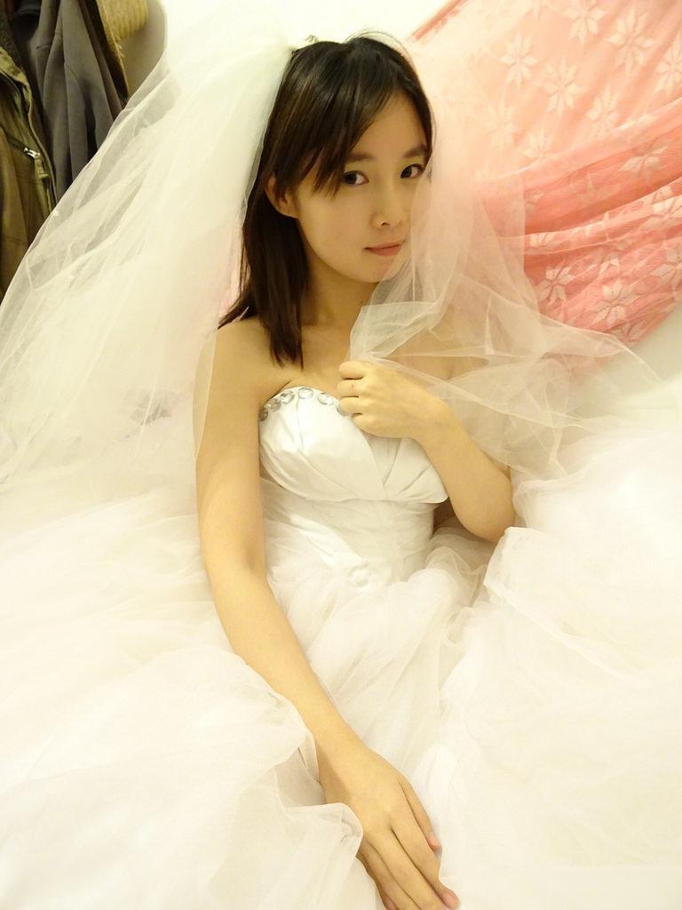 在家拍婚紗 (14)