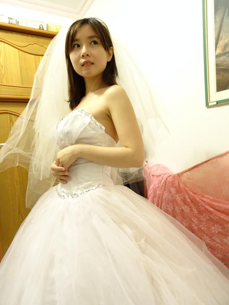在家拍婚紗 (15)