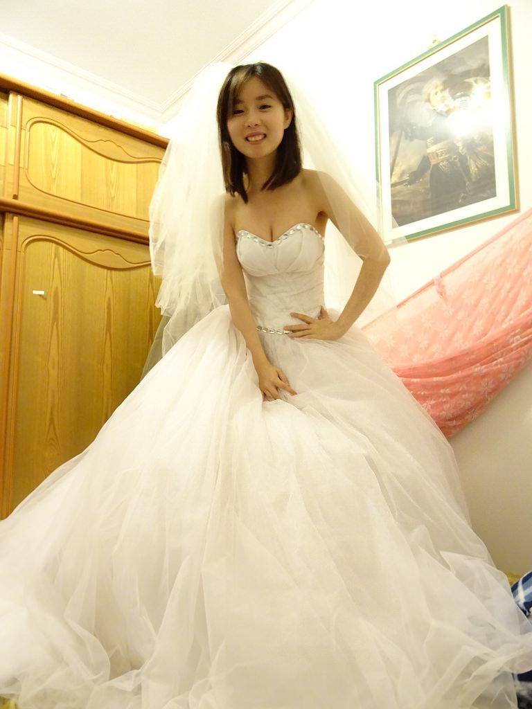 在家拍婚紗 (16)