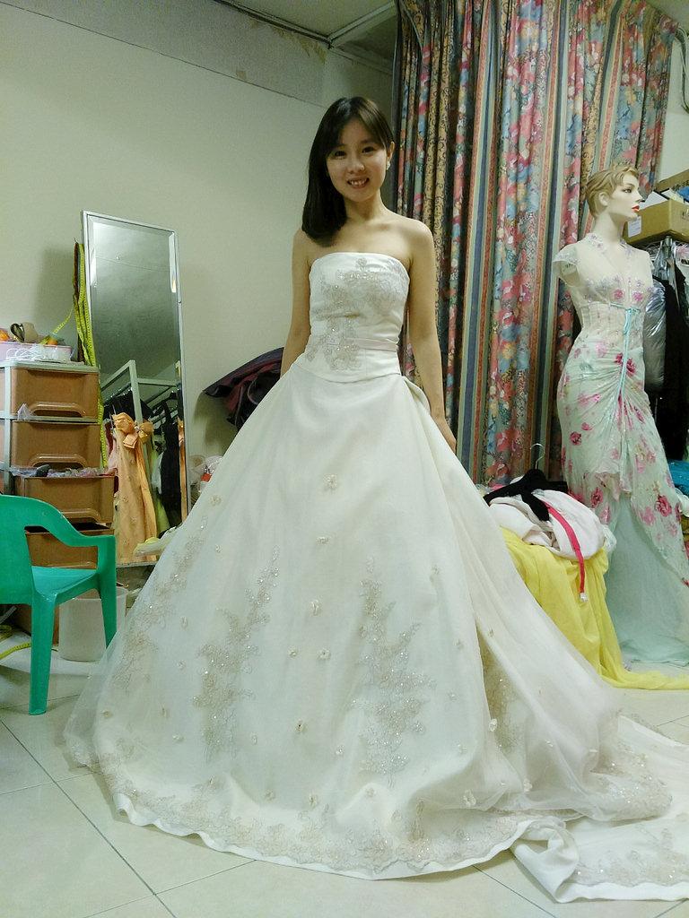 奧莉薇二手婚紗 (13)