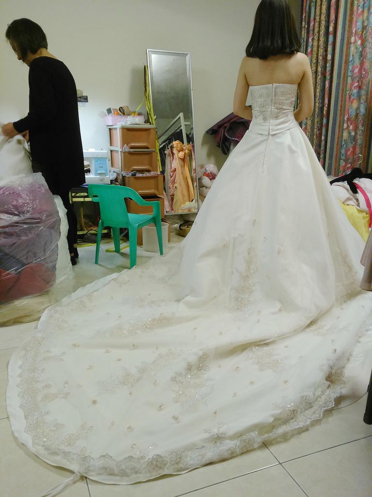 奧莉薇二手婚紗 (23)