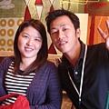 宜恩和明晏,要不是這次區經理聯誼,真的好久不見。